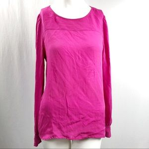 J.Crew Talitha Silk Blouse Pink, used for sale
